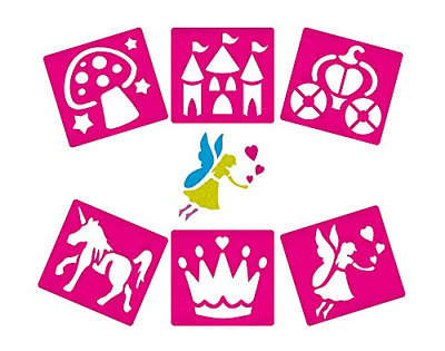Fairy Themed Stencils for Children Create Decorate and Personalise Scenes and of