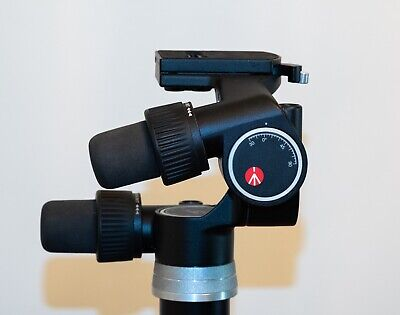 Manfrotto 405 3-Way Geared Pan-and-Tilt Head with 410PL Quick Release Plate