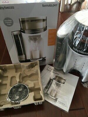 Baby Brezza Formula Pro One Step Food Holder Bottle Warmer Food Dispenser Mixer