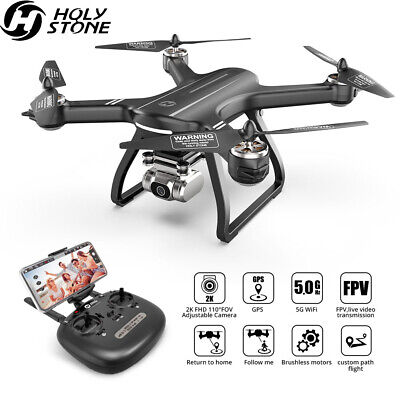 Holy Stone HS700D FPV Drone With 2K HD Video Camera Brushless GPS RC Quadcopter
