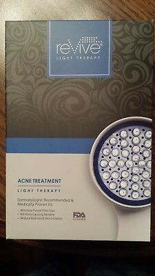 Revive Light Therapy Acne Treatment Model RVACSYS - Brand New, Free Shipping