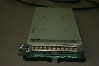 KEITHLEY 7011-C QUAD 1X10 MULTIPLEXER MODULE, Fully Tested, Warranty