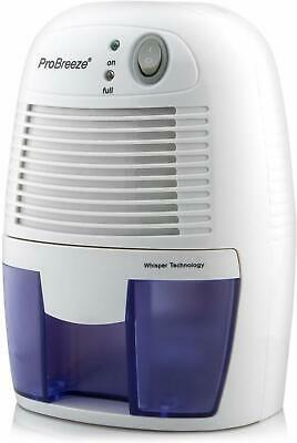 Pro Breeze 500ml Compact and Portable Mini Air Dehumidifier for Moisture in Home