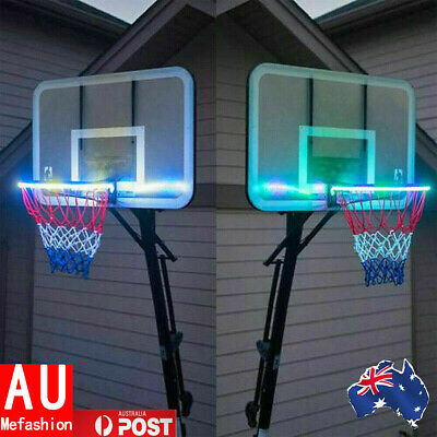 Awesome Basketball Hoop Sensor-Activated LED Solar Strip Light-8 Flash Modes