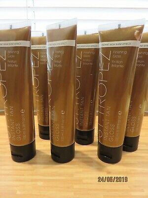6 X ST TROPEZ 100ml INSTANT TAN GLOSS INSTANT HIGH SHINE EFFECT NEW