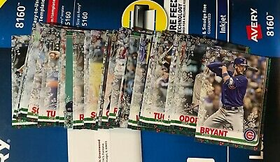 2019 Topps Holiday Walmart Metallic Parallel , pick from list / complete sets