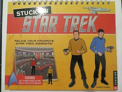STAR TREK ~ STUCK ON STAR TREK ~ 2013 ~ H/C ~ ? pages ~ BRAND NEW