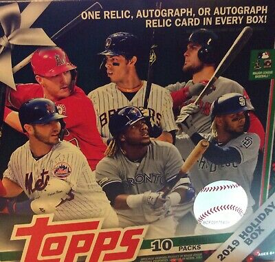 2019 Topps Holiday Baseball (1-200) You Pick Complete Your Set Buy 3 Get 1 Free