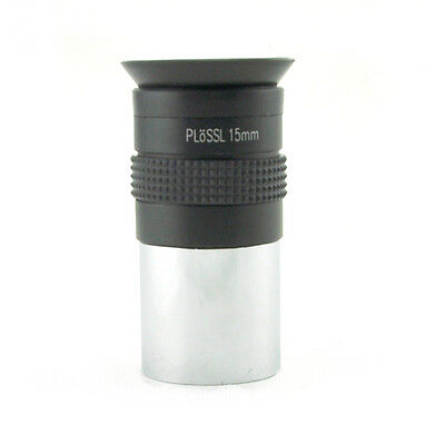 1.25 inch 31.7mm PLOSSL 15mm Multicoated Eyepiece Lens for Astronomy