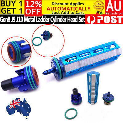 Upgrade Gearbox Ladder Plunger Head Cylinder Nozzle For Gen8 9 J9 J10 Blaster