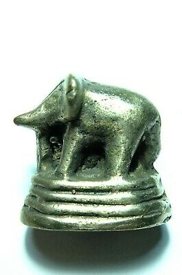 Rare Opium Weights Bronze Antique  Burma