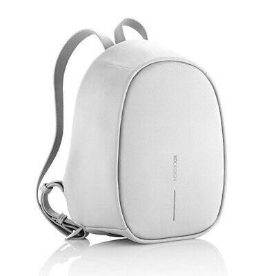 NEW XD Design Bobby Elle Anti-Theft Lady Backpack Light Grey