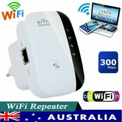 WiFi Range Extender Super Booster 300Mbps Superboost Wireless Repeater NEW AS