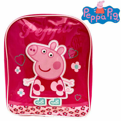Official Girls Peppa Pig Hopscotch Backpack Suit Age 18M - 4 Years