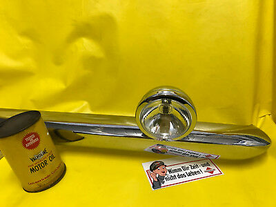 Neuf Chrome Auxiliaire Univers Phares Supplémentaires Rallye Oldtimer Youngtimer