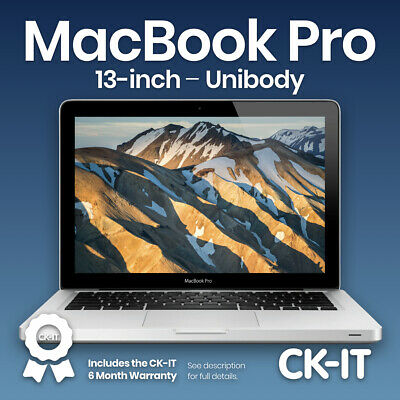 "Apple Macbook pro 13"" i5 2.5Ghz 500GB 4GB Grado B (A1278 Modelo) Ref. ME28"