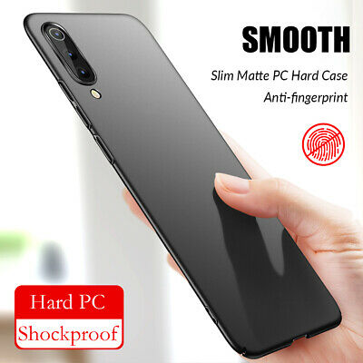 For Xiaomi Mi A3 A2 A1 8 9 Lite Slim Hard PC Shockproof Cover Protective Case