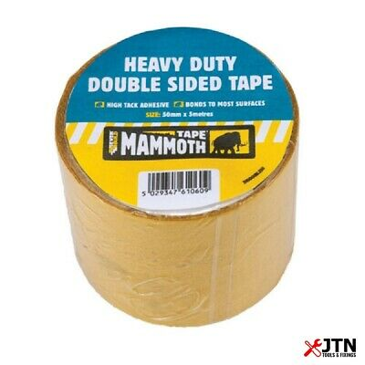 Everbuild 2HDDOUBLE50 Heavy Duty Double Sided Tape 50mm x 5m