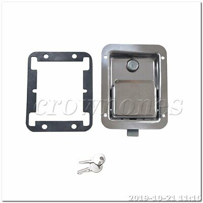 Stainless Steel Paddle Latch for Tool Box Lock Trailer Caravan Truck