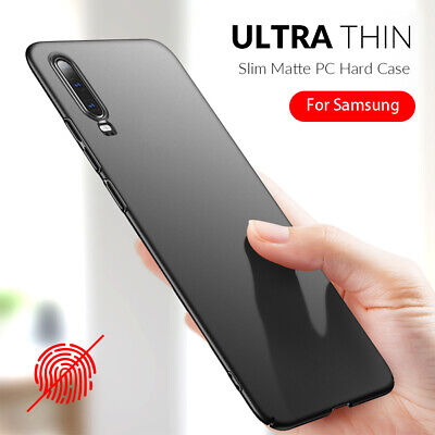 For Samsung A10S A20E A30 A50 A70 Slim Hard PC Shockproof Cover Protective Case