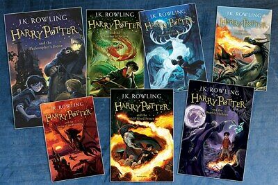 Harry Potter 1-7 entire book collection [P--D--F] FAST DELIVERY