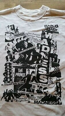 Madness Deadstock Preowned short sleeve Excellent T-Shirt XL 2-Tone