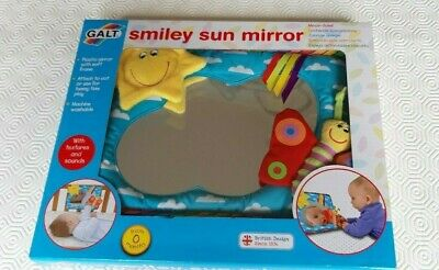 Galt SMILEY SUN MIRROR Baby Toddler Toys And Activities from 0 months