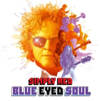 Simply Red - Blue Eyed Soul NEW CD