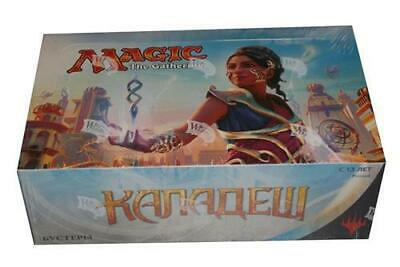 Kaladesh Booster Box RUSSIAN Magic MTG Factory Sealed - Eng. Masterpieces???