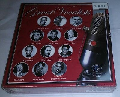 Great Vocalists (10 CD Set) Sinatra, King Cole, Peggy Lee, Garland + More