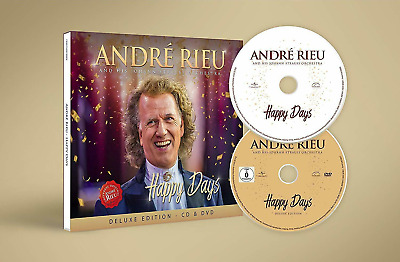 Andre RIEU 'HAPPY DAYS' Deluxe Edition CD & exclusive UK bonus DVD Happy Day