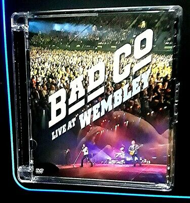 Bad Company Co: Live at Wembley Region 1 One RARE DVD DAMAGED CASE FREE SHIPPING