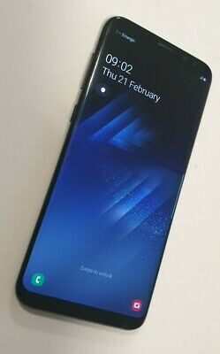 Samsung Galaxy S8 plus SM-G955F - 64GB - Midnight Black - vodafone - Smartphone
