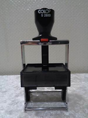 Large Stamp - Vintage - Colop S 2800