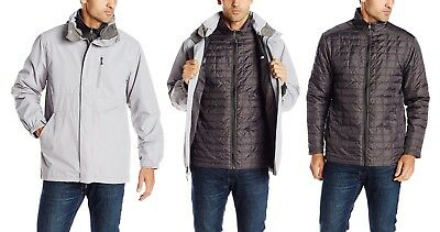 White Sierra Men's Three Reasons Jacket Interchangeable Waterproof Insulated LG