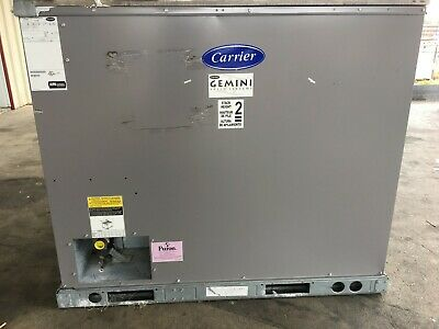 Carrier Gemini 10 Ton Commercial Air Cooled Condensing Unit (460-3-60) R-410A