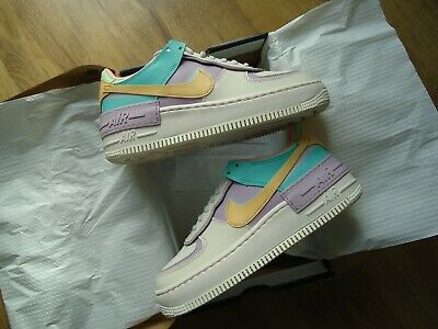 BNWT NIKE AIR FORCE 1 Shadow PALE IVORY SIZE 6 SOLD OUT