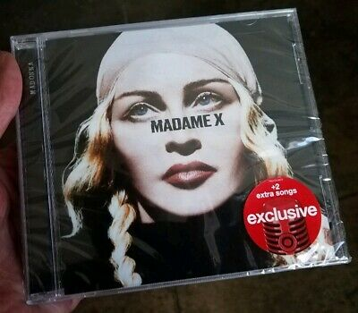 New FACTORY-SEALED Madonna MADAME X Target Exclusive CD with Two (2) EXTRA SONGS