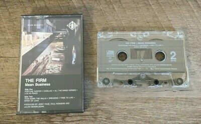 The Firm Cassette Mean Business - 1990 Atlantic