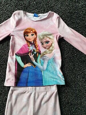 Girls Disney Frozen  pyjamas 6-7