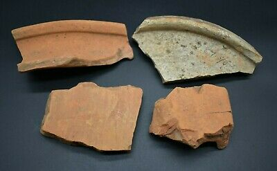Mixed lot of ancient Roman pottery fragments C. 1st - 3rd century AD