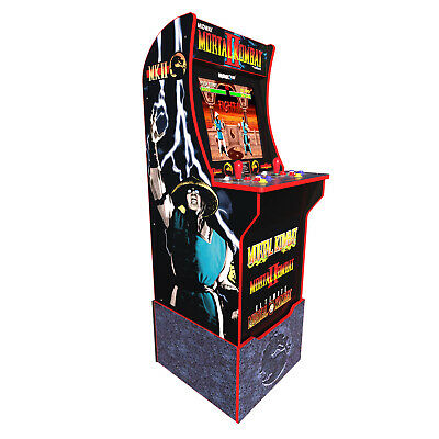 Arcade1Up Mortal Kombat At-Home Arcade Machine with Riser [Brand New]