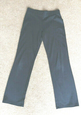 Girls black tracksuit bottoms / Trousers 10-11 Years