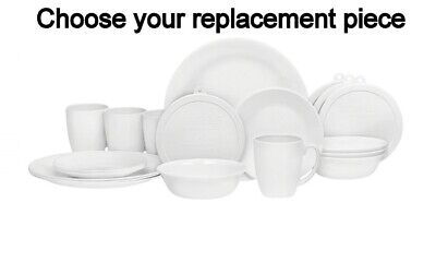 Corelle Winter Frost White Replacement Pieces        You Choose
