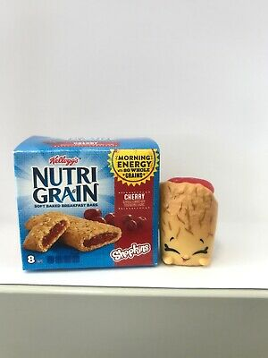 Shopkins Season 12 Real Littles Brands Nellie Nutri Grain With Container