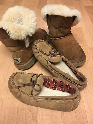 Childrens Chestnut Ugg Boots Uk2