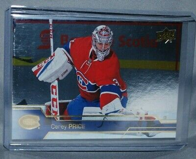 2016-17 Upper Deck Silver Foil #349 Carey Price Montreal Canadiens
