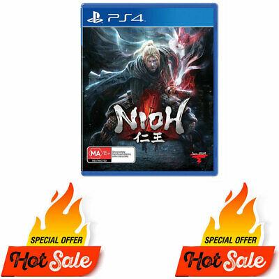 PS4 Nioh Game for Playstation 4 Ps4 - Like New Not Sealed