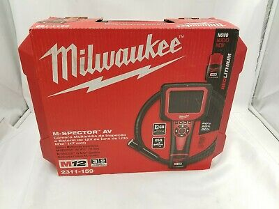 Milwaukee M-Spector AV M12 Cordless Camera