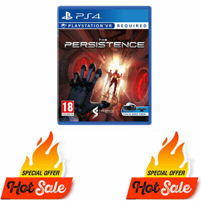 PS4 The Persistence PS4 Game (PSVR Required) - Like New Not Sealed